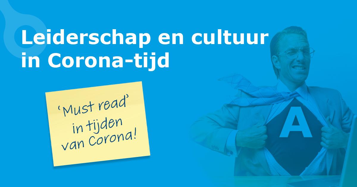 header Leiderschap en cultuur in Corona-tijd
