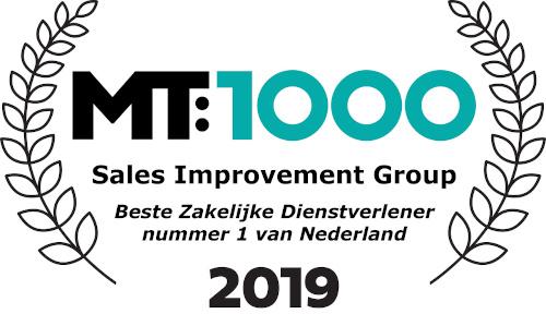 Winnaar MT1000 2019